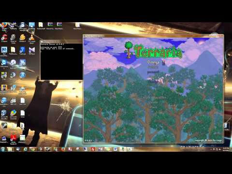 Terraria 1.2 - Host and Play on a Vanilla Server - Let Friends Join [HD-1080p]