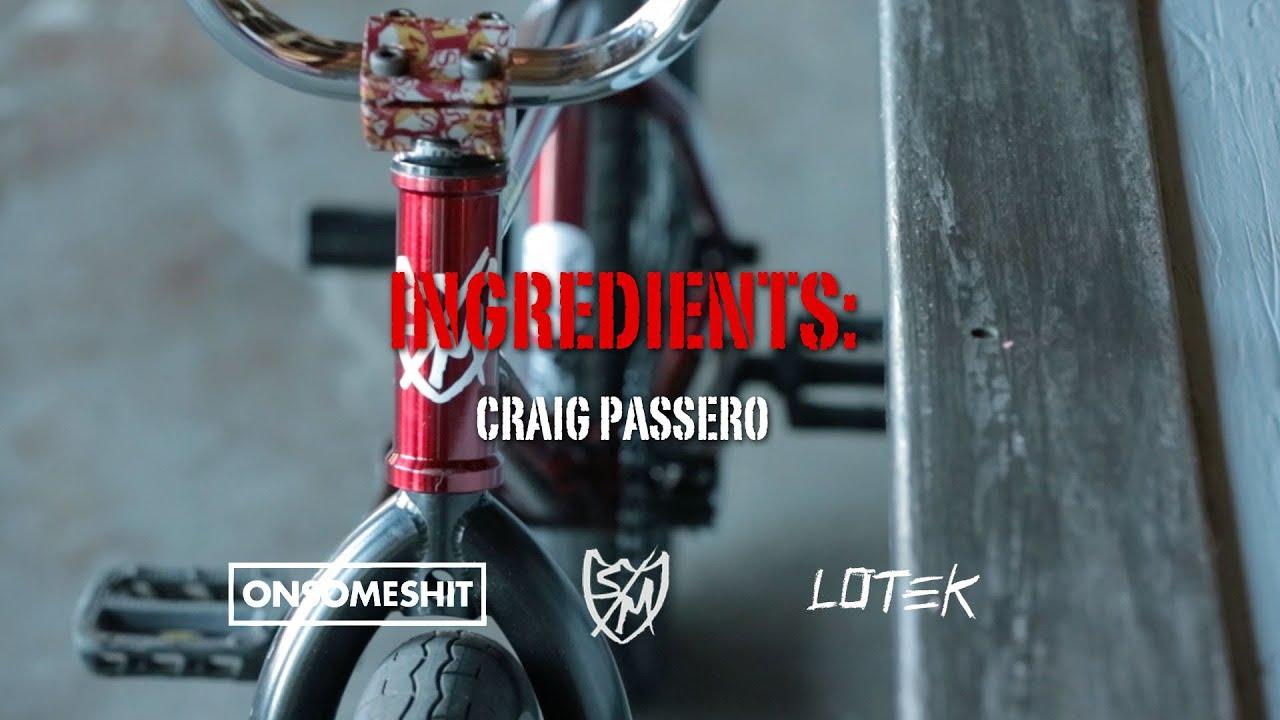 Ingredients: Craig Passero\'s New S&M Bikes ATF - YouTube