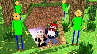 Wir finden Killer Baldi in Minecraft 😰
