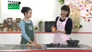 ジューシー煮込みハンバーグ/白菜のコンソメスープ 淡々と白菜 検索動画 9
