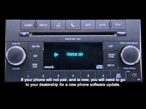 2013 Chrysler Town & Country | Uconnect Phone - Non-Touchscreen Radio