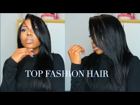 HOW TO LAY YOUR U PART WIG    ALIEXPRESS    TOP FASHION HAIR