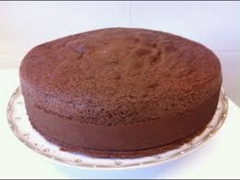 receta de torta de chocolate simple