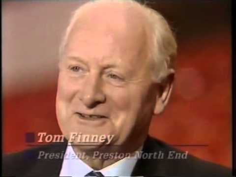 Sir Tom Finney interview, 1988. Liverpool 5 Nottingham Forest 0