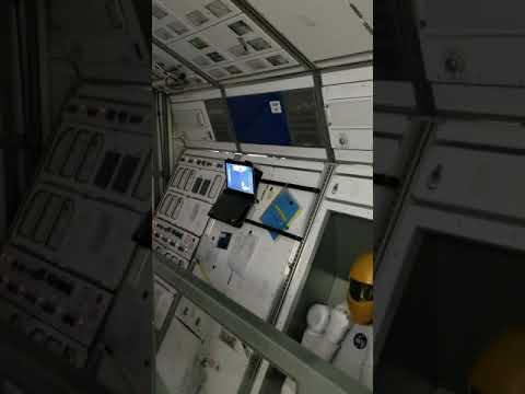 Replica ISS (International Space Station) at The Perot Museum of Nature & Science