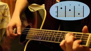 Как играть на гитаре песню группы ДДТ - Я получил эту роль?
