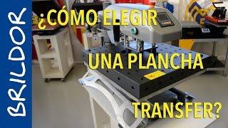 Todo sobre planchas transfer