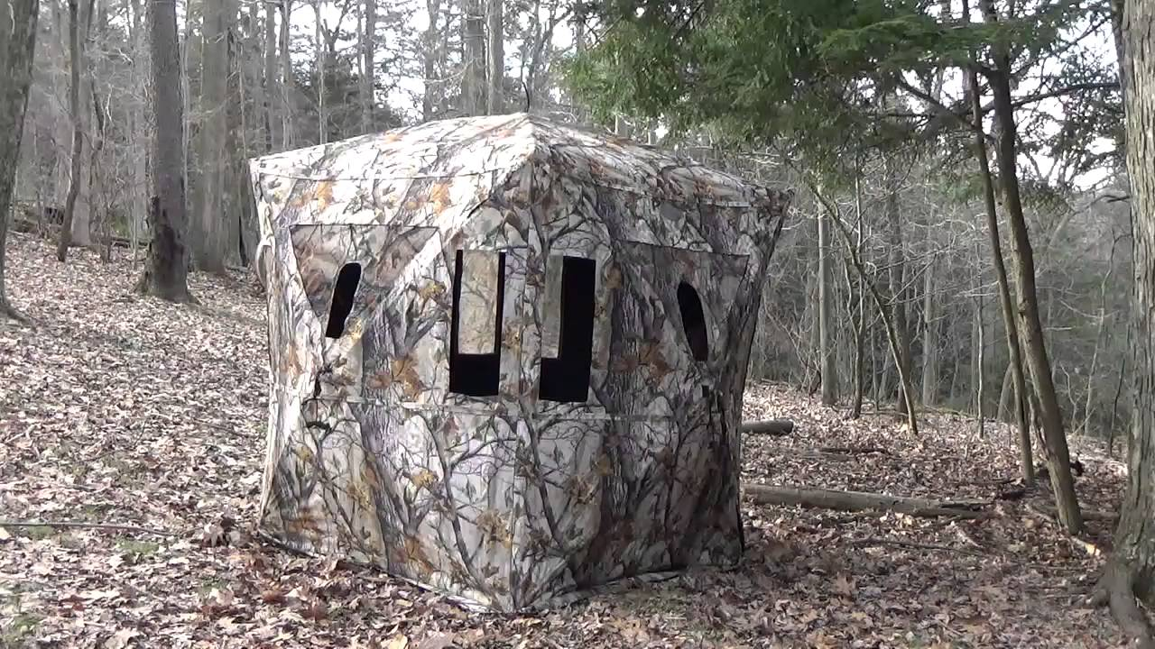 Muddy Redemption Ground Blind Review Youtube