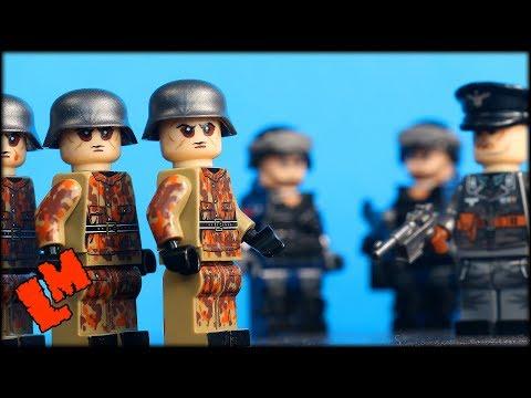 """Китайский спецназ и немецкие саперы. Обзор """"лего"""" фигурок."""