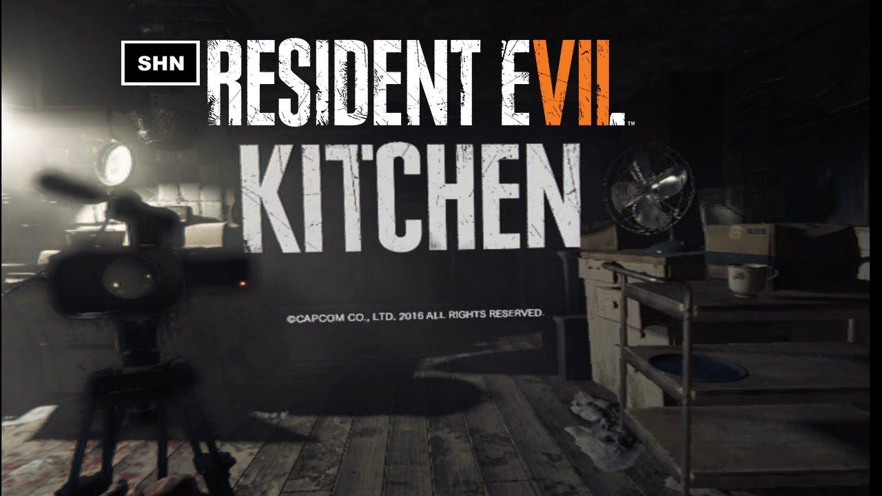 Resident Evil 7: KITCHEN VR HD Demo Playstation VR Walkthrough ...