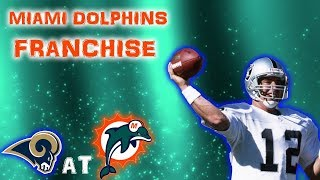 GANNON THE CANNON! | NFL 2k5 Miami Dolphins Franchise Rebuild | Episode 8 (S1,G7) vs Rams