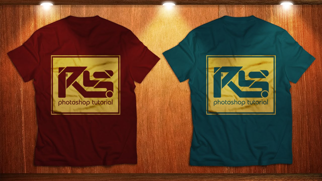 Designing T Shirts In Photoshop: Create Design for T-Shirt Mockup Photoshop Tutorial - YouTuberh:youtube.com,Design