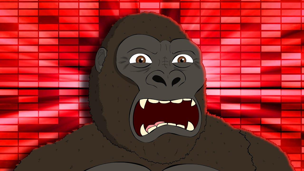 Kong The Dancing Monkey - Godzilla vs Kong #Shorts