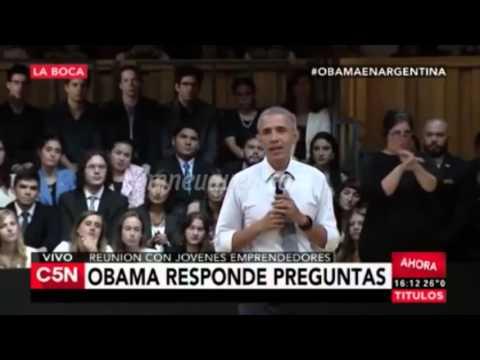 El neuquino que habló con Obama se emocionó: Me temblaban las piernas
