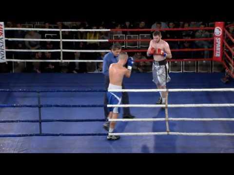 Boxing Show от Sparta. Киев, 24/12/2016. Шамиль Галаев, UKR vs Валентин Пивень, UKR