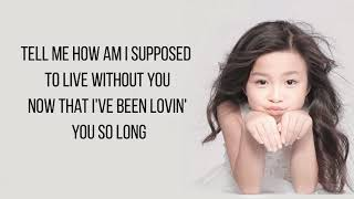 Gambar cover Celine Tam -  How Am I Supposed To Live Without You (lyrics)