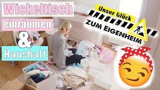 Paulines Kleiderschrank & Wickeltisch organisieren | Mama Alltag | 21 SSW | Isabeau