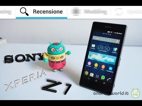Sony Xperia Z1, recensione in italiano by AndroidWorld.it
