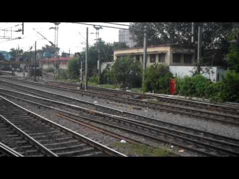 Entering Secunderabad Railway Station