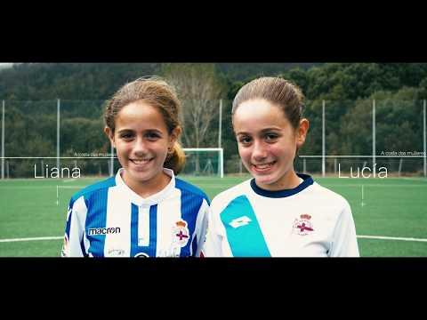 """Lucía e Liana Quintela, futbolistas carnotás: """"Deberíamos xogar todos e todas"""""""