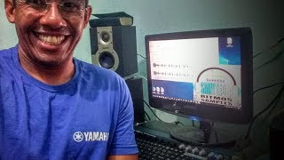 AUDIO LOOPS WAVES USADO COMO RITIMO NO YAMAHA S670 SAMPLE INTERNO-ENSINANDO-#SAMYTECLA #2