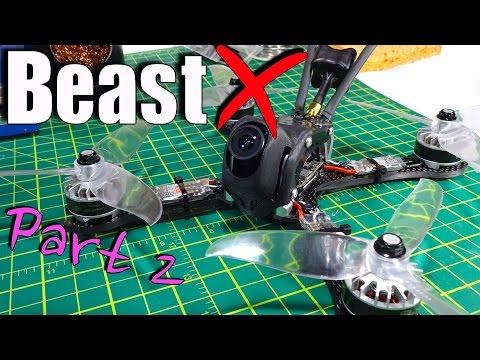 Beast X Racing Quad Build Part 2: Tornado T2 Motors, DYS XSD20 ESCs