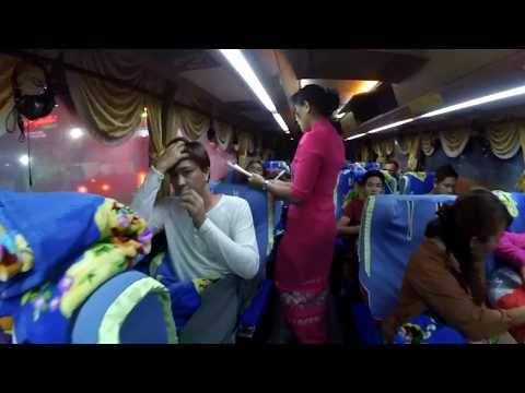 Myanmar Luxury SCANIA Bus: Yangon to Bagan