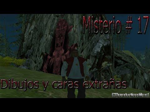 Misterios Del GTA San Andreas (No Mods) - 17# Dibujos Y Caras Extrañas