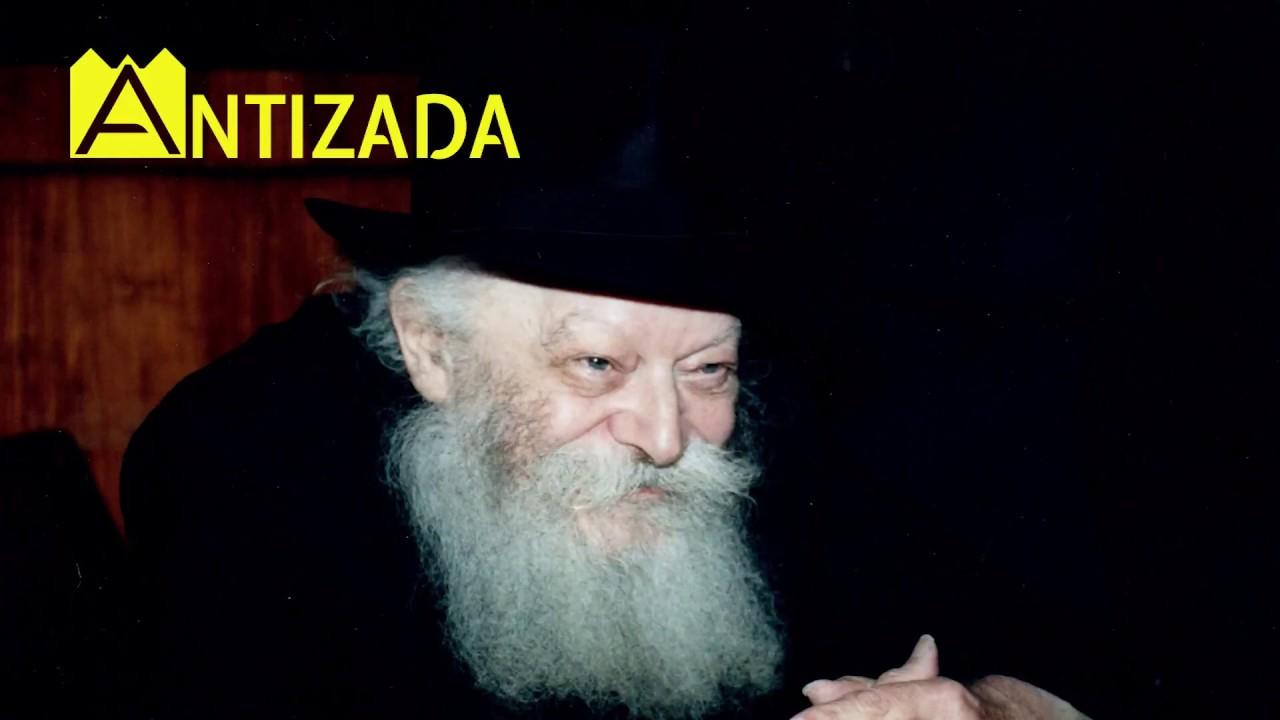 """הרבי מליובאוויטש מנגן ניגון שמחה (ר""""ה) לרב אהרון חריטונוב"""