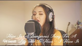 Hope Is A Dangerous Thing For Me To Have - Lana Del Rey (cover) by Aine Carroll Video