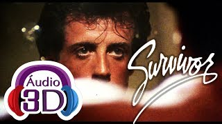 survivor eye of the tiger rocky theme 3d audio total immersion