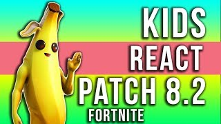I bambini reagiscono alla patch di Fortnite 8.20