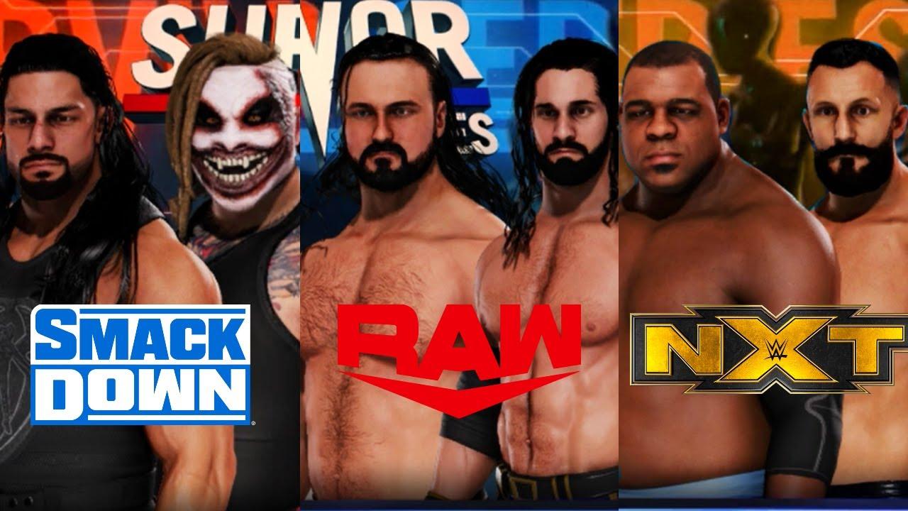 WWE 2K20 Survivor Series RAW VS SMACKDOWN VS NXT 2020 ! WWE 2K20 SURVIVOR SERIES !