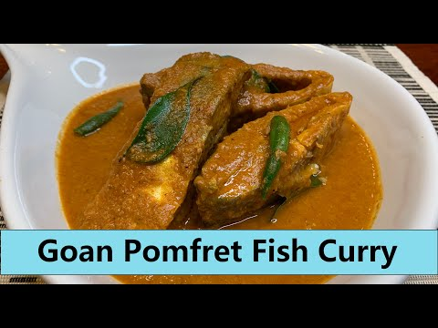 GOAN POMFRET FISH CURRY | Shelter-At-Home | Using Up Freezer Foods | Show Me The Curry