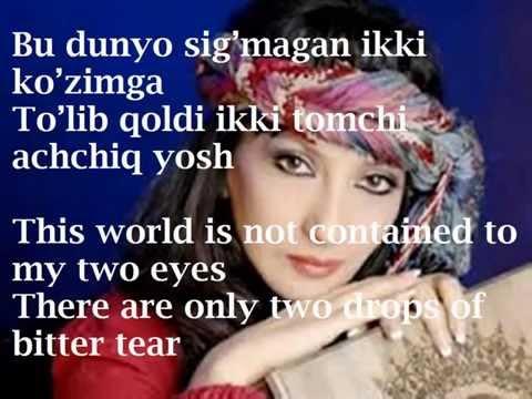 Nasiba Abdullayeva Baxt o'zi nimadir What is happiness itself Uzbek lyrics By Nafisa Aslonova