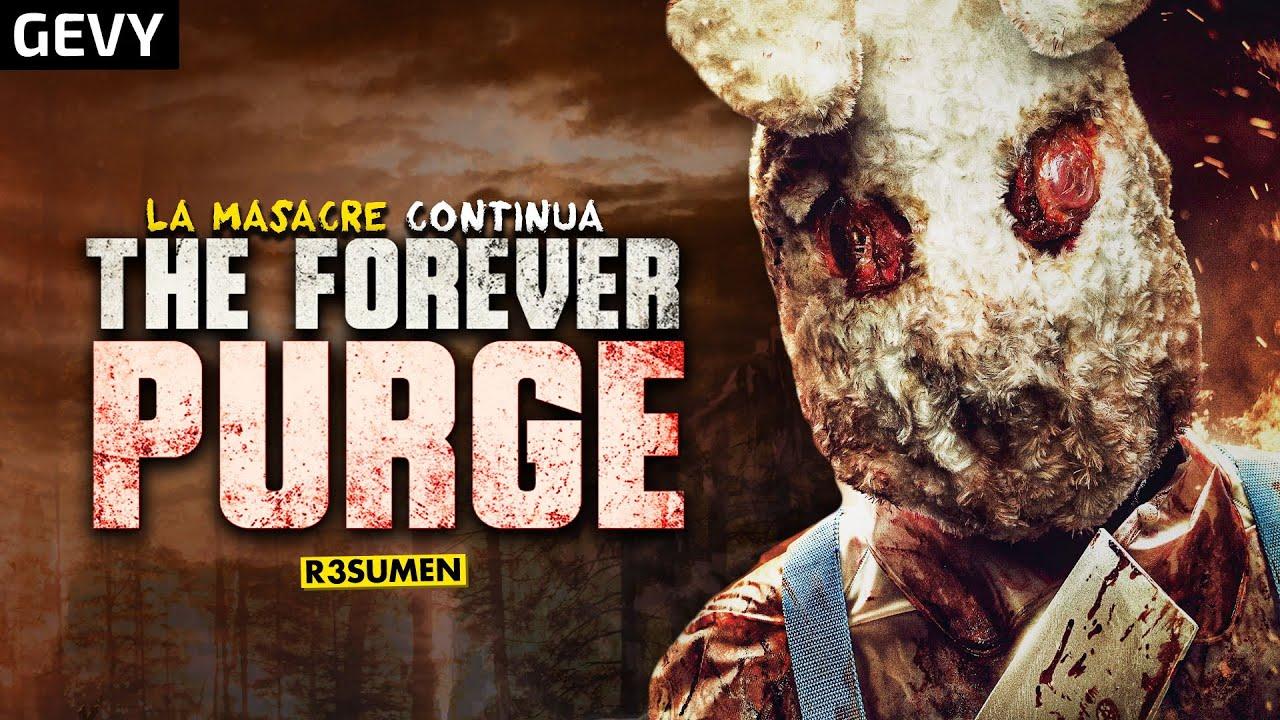 La Purga Por Siempre (The Forever Purge 2021) En 8 Minutos