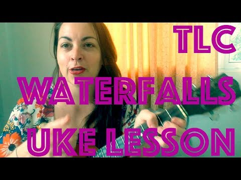How To Play WATERFALLS TLC Easy Ukulele Lesson Chords Strumming