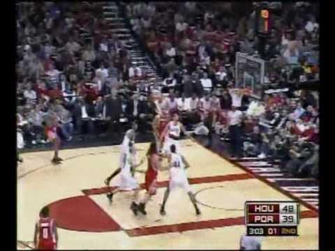 Houston Rockets Playoffs Highlights vs. Blazers 4/18/2009