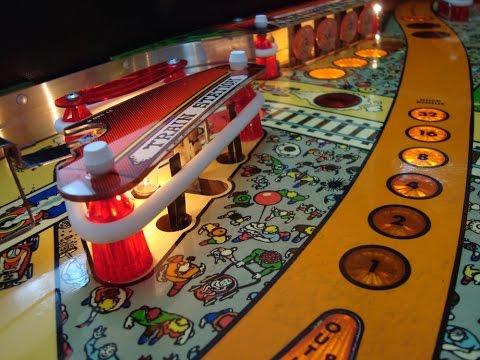 1985 Williams Comet Pinball Machine - Gameplay, Artwork, Design Video