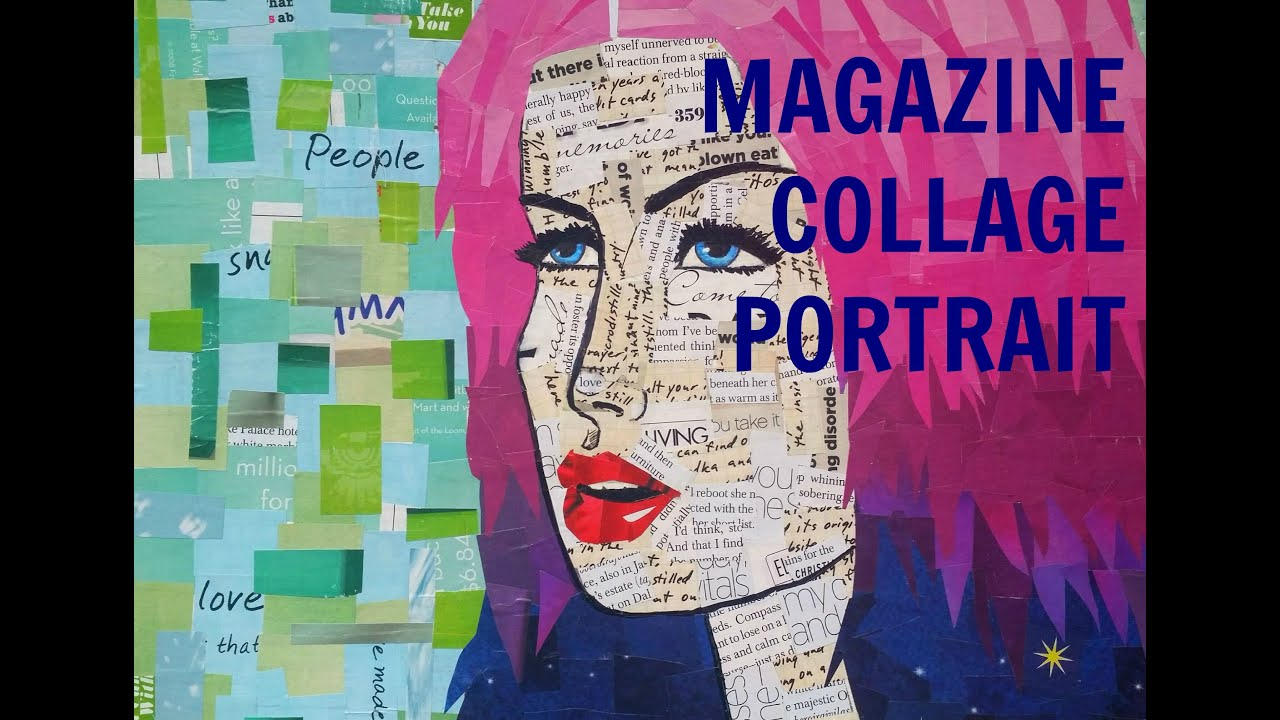 Magazine collage portrait tutorial youtube solutioingenieria Gallery