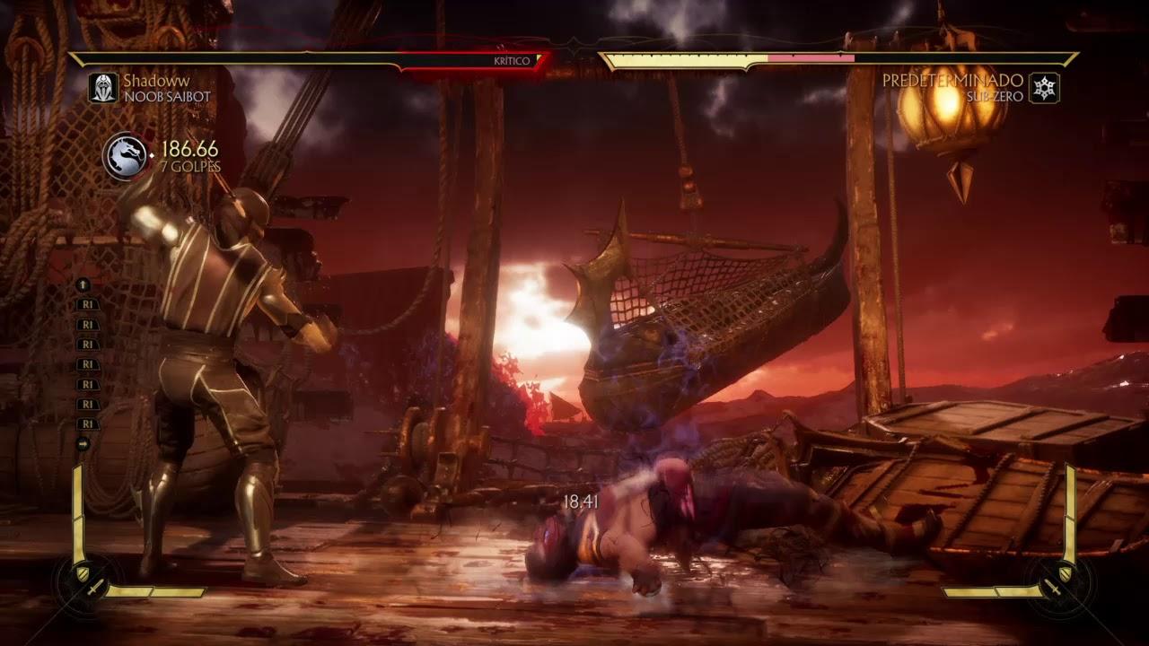 Noob Saibot Combos - Mortal Kombat 11 | Combo Network