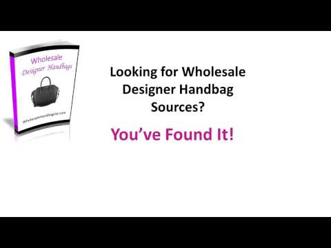 Wholesale Designer Handbag Directory part 1