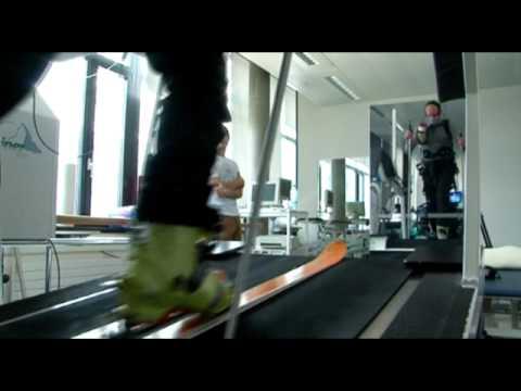 Patrouille des glaciers tests sur tapis roulant pour le swiss olympic medical center youtube - Test vo2max sur tapis roulant ...