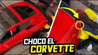 MARCO CHOCÓ EN LA COCHERA EL CORVETTE DE KARLA.. | ManuelRivera11