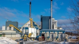 Biomass handling solution delivered to Pursiala Power plant in Mikkeli, Finland