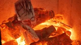 Kaminofen kaufen Feuer hoch 3