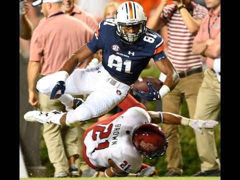 Auburn Wide Receiver Darius Slayton: Sept. 20, 2015