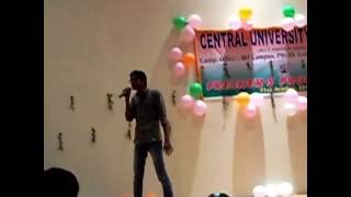 central university of bihar- freshers party 2012