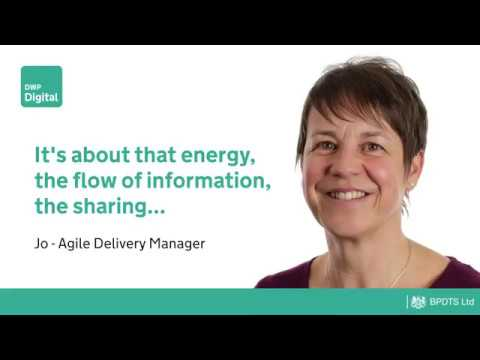 Agile Delivery Manager Jo - It's about that energy, the flow of information...