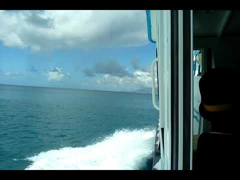 1st ferry trip from Nevis to St kitts...1st time there Dec 21